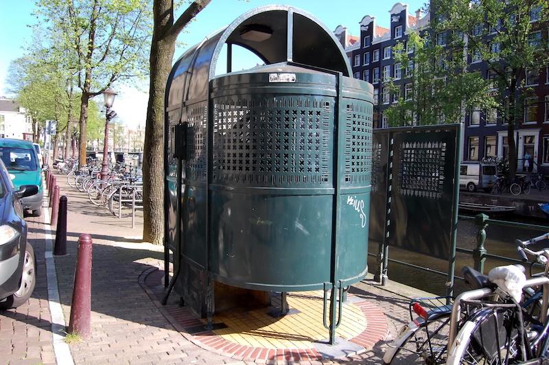 アムステルダムにある男性用公衆便所
