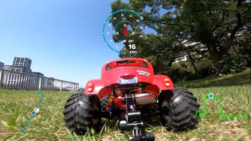 GoProのGPS機能をラジコンで試す