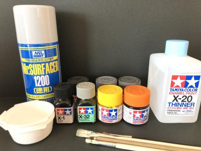 各塗料用品