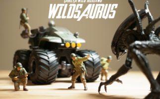 これぞ「SF映え」!ワイルドザウルスが地球を救う(ワイルドミニ四駆/タミヤ)
