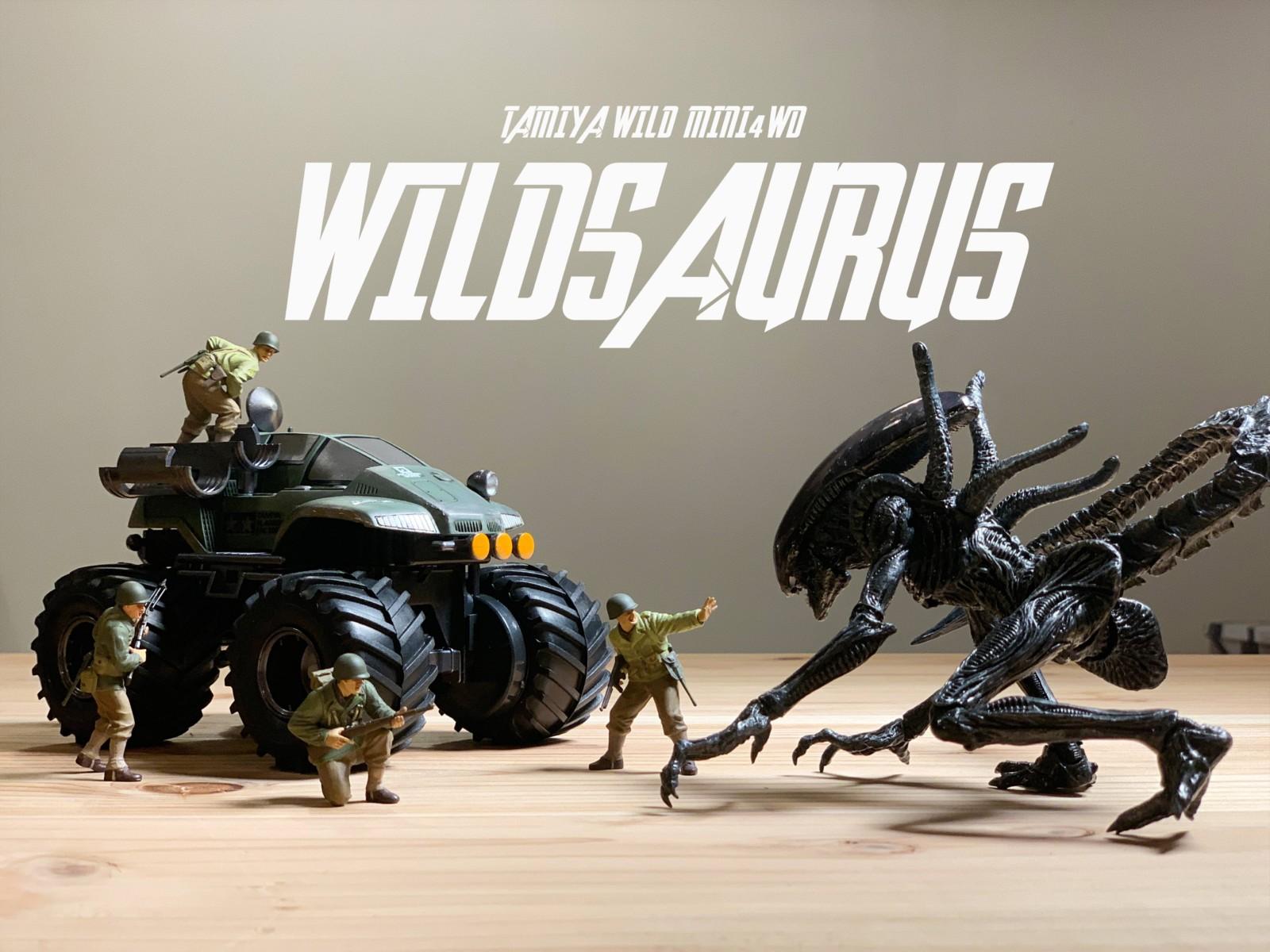 ワイルドザウルスのタイトル画像