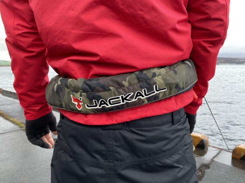 甲斐さんのライフジャケット
