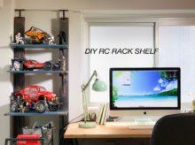 【偏愛DIY#02】モンスタービートルが映えるガレージ風ラジコン用ラックを2×4で自作