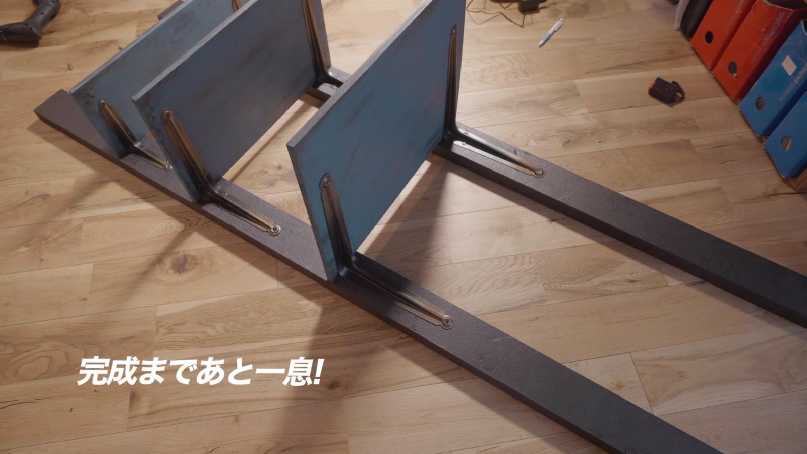 DIYラジコンラックの組み立て