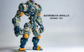 アクションフィギュアをリペイント!「Astrobots Apollo」をSFミリタリー調に塗装してみる