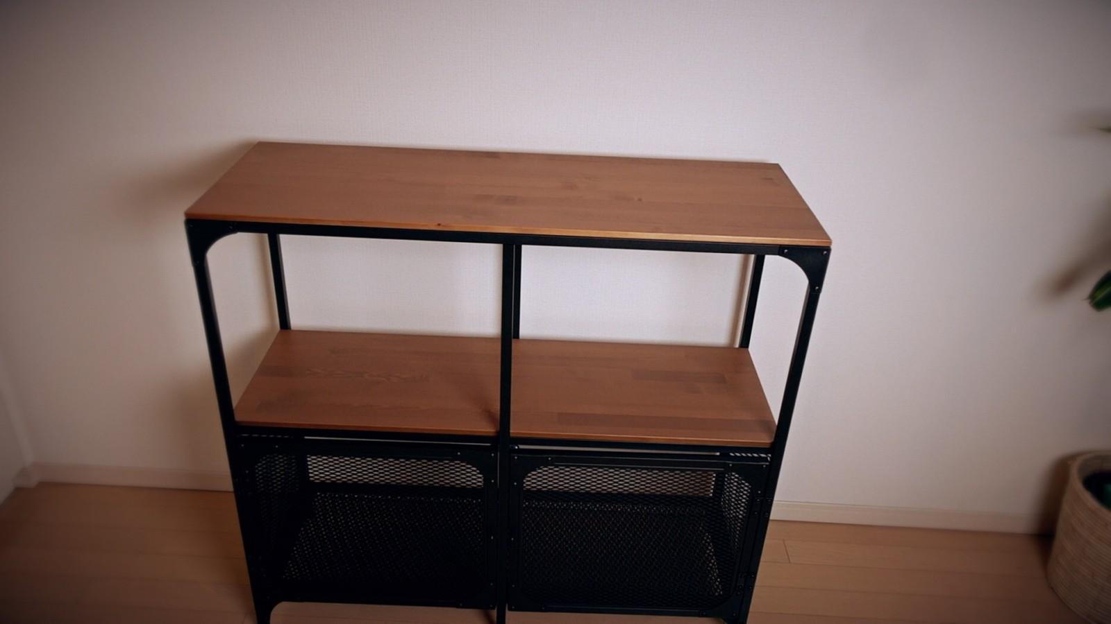 IKEAの男前コレクションラック「フィエルボ」