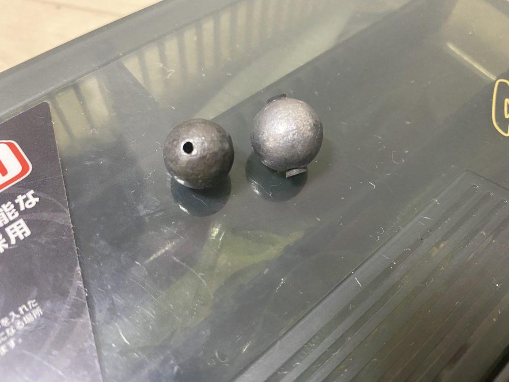 ロックフィッシュに使うボールシンカー