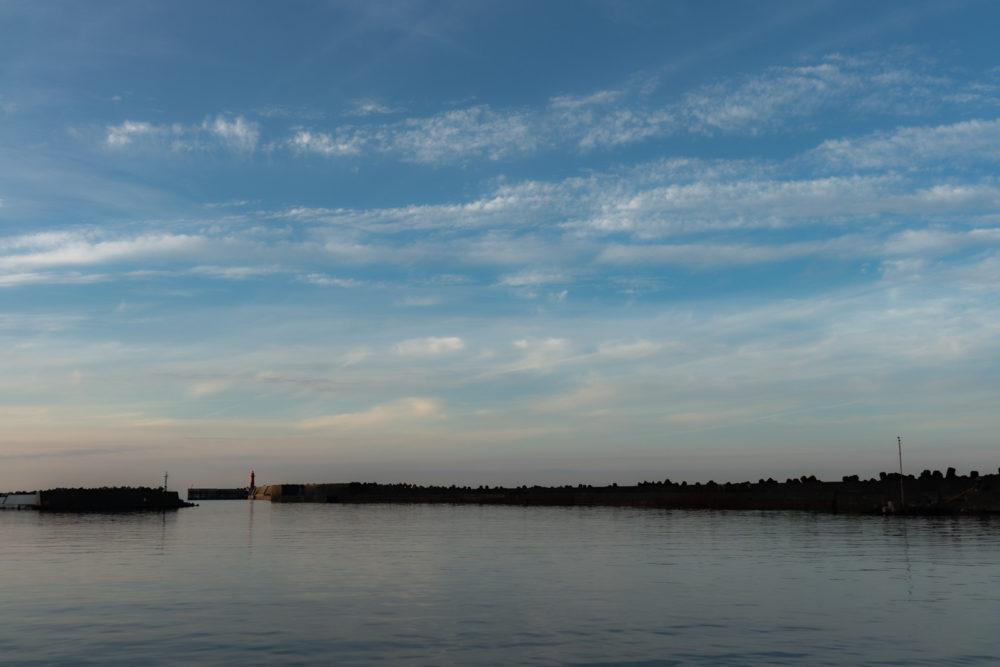 ディープエリアの漁港