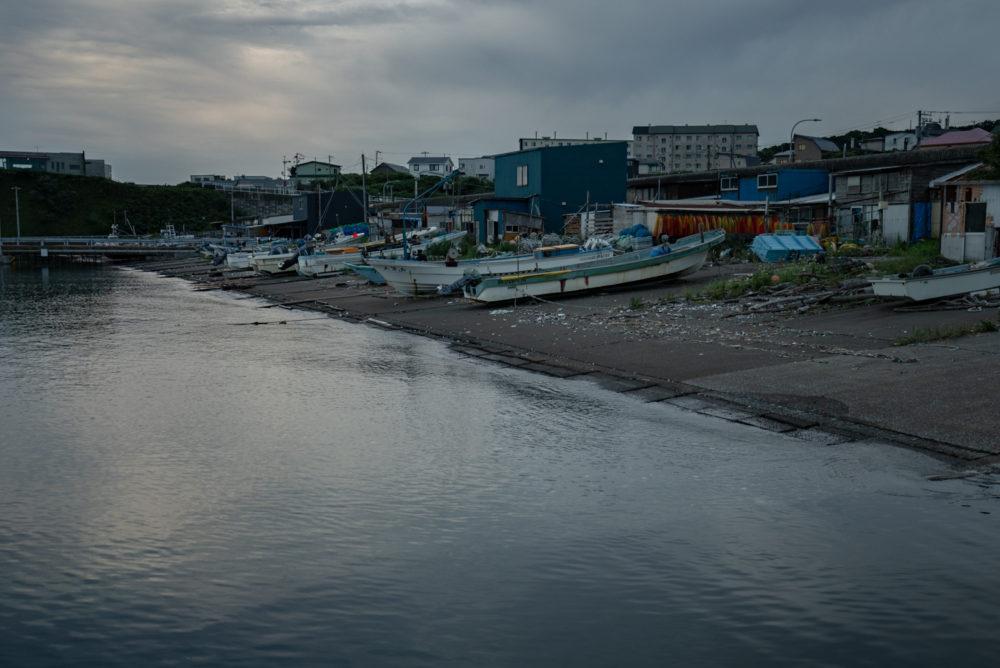小規模漁港のシャローエリア