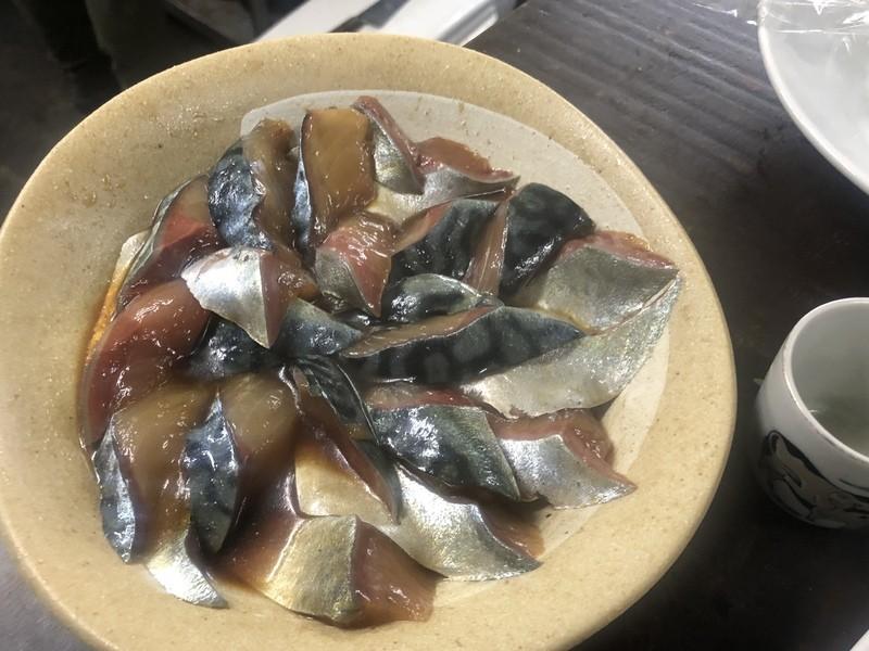 伊豆大島のしめ鯖